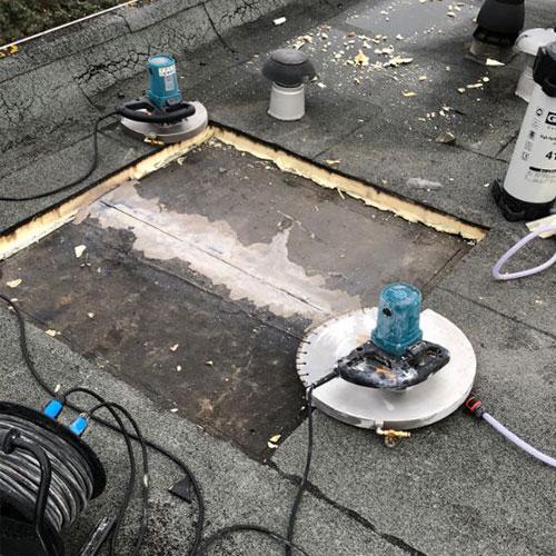 beton zagen